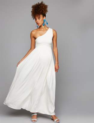 Rachel Pally Pea Collection One Shoulder Maternity Dress