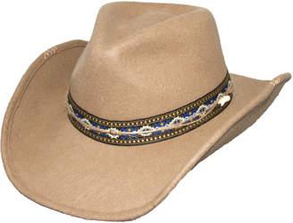 Dorfman Pacific Wool Felt Western Hat