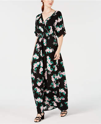 Material Girl Juniors' Kimono-Sleeve Maxi Dress