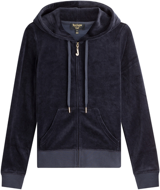 Juicy Couture J Bling Velour Hoodie $189 thestylecure.com