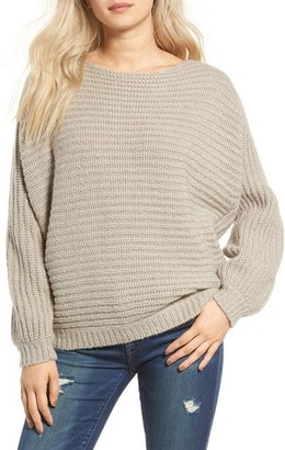 Women's Glamorous Open Back Boyfriend Sweater $75 thestylecure.com