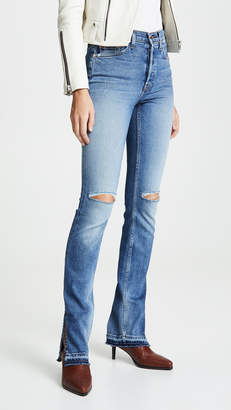 Cotton Citizen High Split Jeans