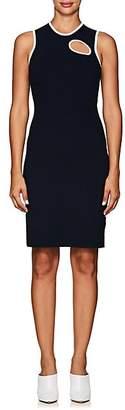 Nomia Women's Cutout Cotton-Blend Minidress - Navy