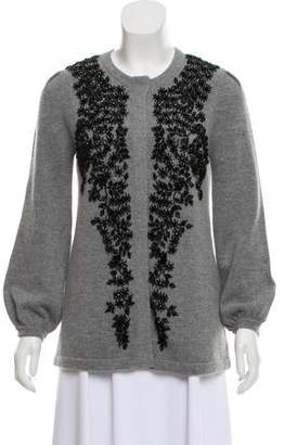 Co Embellished Wool & Cashmere Cardigan w/ Tags