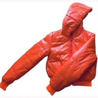 adidas Stella Mc Cartney Pour Orange Coat for Women
