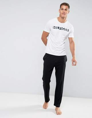 Tommy Hilfiger Lounge Pants Icon Waistband in Black