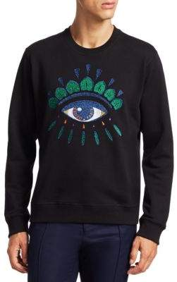 Kenzo Embroidered Eye Graphic Pullover
