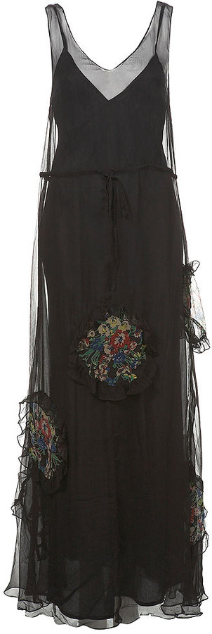Circle Hem Maxi Dress
