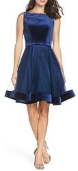 Mac Duggal Ieena for  Velvet & Tulle Party Dress