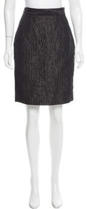 Proenza Schouler Matelassé Knee-Length Skirt