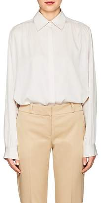 The Row Women's Choi Stretch-Silk Georgette Blouse