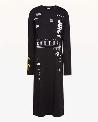 Juicy Couture JXJC Multi-Logo T-Shirt Dress
