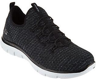 Skechers Multi Knit Slip-On Bungee Sneakers - $49.98 thestylecure.com