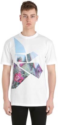 Esprit (エスプリ) - Esprit D'equipe Milan Limit.ed Poppy Printed Cotton T-Shirt