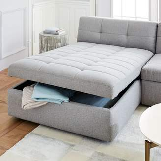 west elm Plateau Storage Chaise