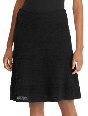 Lauren Ralph Lauren Classic A-Line Skirt