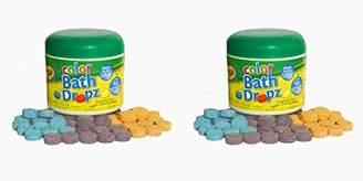 Crayola Color Bath Dropz 60 Tablets 3.59 Ounce Jar (3 Pack)
