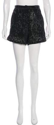 Ann Demeulemeester Embroidered High-Rise Shorts