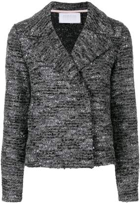 Harris Wharf London cropped knit jacket