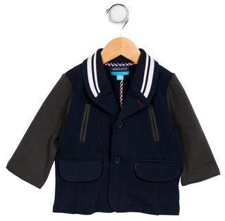 Andy & Evan Boys' Button-Up Casual Jacket