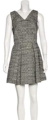 Robert Rodriguez Woven A-Line Dress