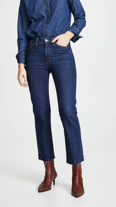 MiH Jeans The Daily Crop High Rise Straight Jeans
