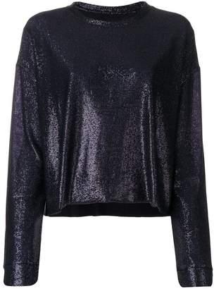 RtA metallic knit top