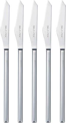 Belo Inox Vertice デザートナイフ 5本セット シルバー