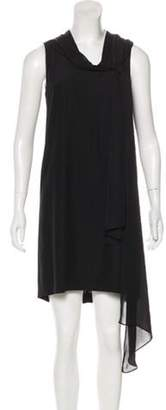 Thomas Wylde Chain -Accented Mini Dress w/ Tags Black Chain -Accented Mini Dress w/ Tags