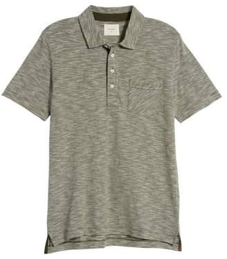 Billy Reid Stripe Jersey Polo