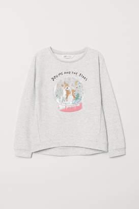 H&M Sweatshirt with a motif