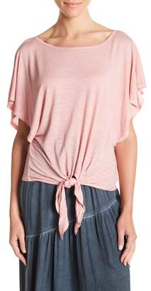 On The Road Krina Tie Front Tee