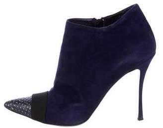 Nicholas Kirkwood Suede Ankle Boots