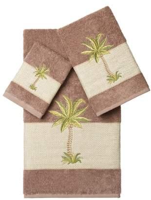 Linum Home Textiles Colton 3-Piece Turkish Cotton Towel Set