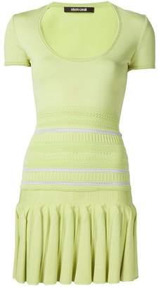 Roberto Cavalli knitted mini dress