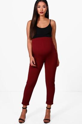 boohoo Maternity Turn Up Cuff Trouser