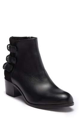 H By Hudson Eris Block Heel Buckle Boot