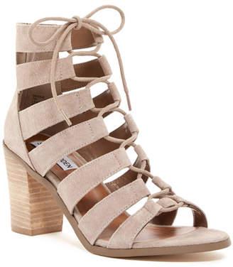 Steve Madden Dessie Lace Sandal $109.95 thestylecure.com