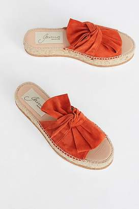 Fp Collection Suede Samantha Flatform Sandal