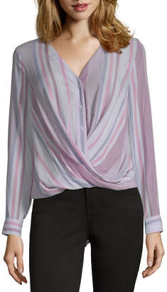 A.N.A Button Down Suprlice Top - Tall