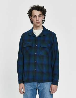 Stussy Sean Plaid Camp Collar Shirt