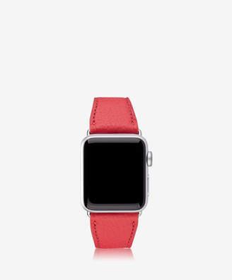 GiGi New York 38mm Apple Watch Band, Azure Pebble Grain