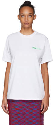 Opening Ceremony SSENSE Exclusive White Logo T-Shirt