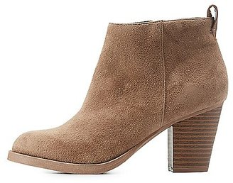 Almond Toe Ankle Booties $38.99 thestylecure.com