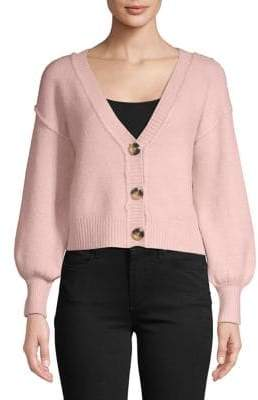 Topshop Supersoft Cropped Cardigan