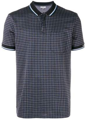 Lanvin patterned polo shirt