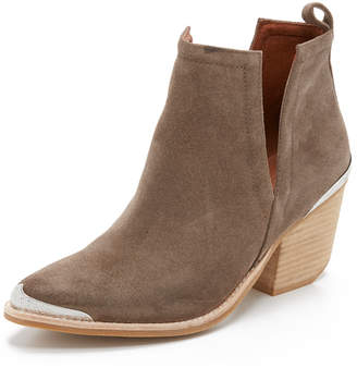 Jeffrey Campbell Cromwell Suede Booties $175 thestylecure.com
