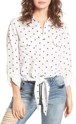 Lush Knot Front Shirt