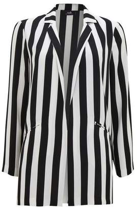 Wallis Monochrome Striped Blazer