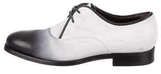 Jimmy Choo Ombré Suede Derby Shoes
